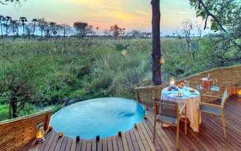 A photo of Sandibe Safari Lodge, Okavango